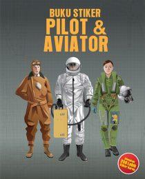 Buku Stiker Pilot & Aviator