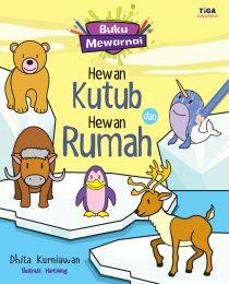 Buku Mewarnai: Hewan Kutub dan Hewan Rumah