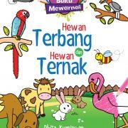 Buku Mewarnai: Hewan Terbang dan Hewan Ternak