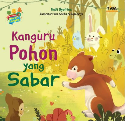 Kanguru Pohon yang Sabar