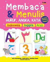 Membaca & Menulis Huruf, Angka, Kata Indonesia Inggris Arab