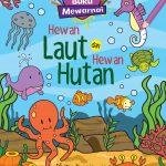Buku Mewarnai: Hewan Laut dan Hewan Hutan